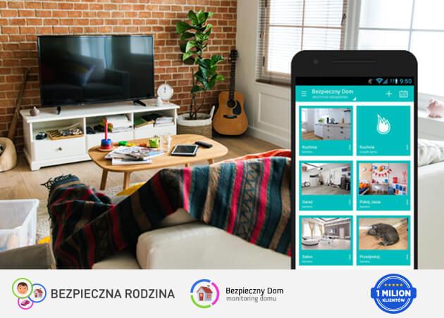 Aplikacja Bezpieczna Rodzina w usłudze Bezpieczny Dom